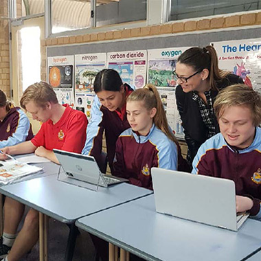 st marks anglican community school case study - mss it perth