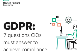 CIO GDPR HPE graphic